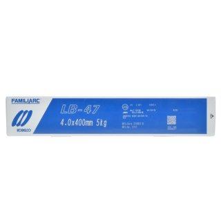 KOBELCO LB-47(LB47) 4.0mm×400mm 1kg バラ売り 神戸製鋼 被覆アーク溶接棒最もベーシックな低水素系溶接棒