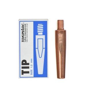 トーキン CO2/MAG/MIG溶接用 Nチップ(パナソニック溶接システム用) φ1.2mm.(標準タイプ 10本入) TIP 002 003