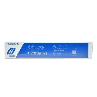 KOBELCO LB-52(LB52) 4.0mm×400mm 5kg/小箱 神戸製鋼 被覆アーク溶接棒 低水素系被覆アーク溶接棒