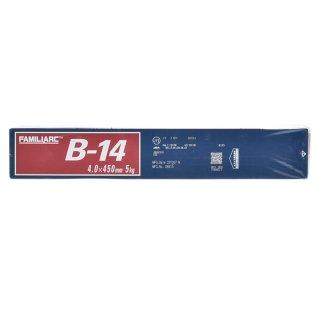 KOBELCO B-14(B14) 4.0mm×450mm 1kg バラ売り 神戸製鋼 被覆アーク溶接棒 造船、車両、建築などの構造溶接用
