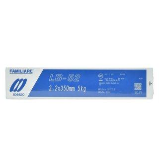 KOBELCO LB-52(LB52) 3.2mm×350mm 5kg/小箱 神戸製鋼 被覆アーク溶接棒 低水素系被覆アーク溶接棒