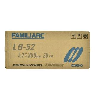 KOBELCO LB-52(LB52) 3.2mm×350mm 20kg/箱 神戸製鋼 被覆アーク溶接棒 低水素系被覆アーク溶接棒