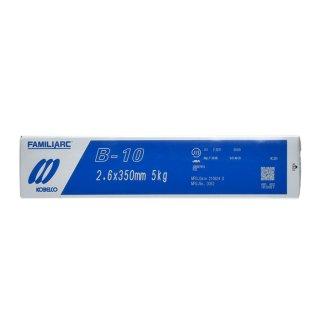 KOBELCO B-10(B10) 2.6mm×350mm 5kg/小箱 神戸製鋼 被覆アーク溶接棒 車両、建築などの一般構造物用