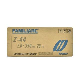 KOBELCO Z-44 2.6mm×350mm 20kg/箱 神戸製鋼 被覆アーク溶接棒(ZERODE-44 ゼロード44)