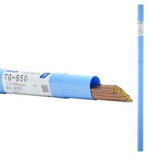 KOBELCO TG-S50(TGS-50) 軟鋼TIG溶接棒 1.6mm 5kg 神戸製鋼 (軟鋼〜490MPa級鋼)