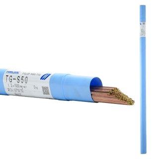 KOBELCO TG-S50(TGS-50) 軟鋼TIG溶接棒 1.2mm 5kg 神戸製鋼 (軟鋼〜490MPa級鋼)