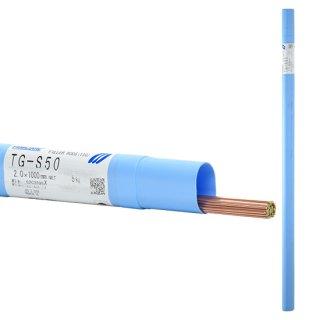 KOBELCO TG-S50(TGS-50) 軟鋼TIG溶接棒 2.0mm 1kg 神戸製鋼 (軟鋼〜490MPa級鋼) 【1kgバラ売り】