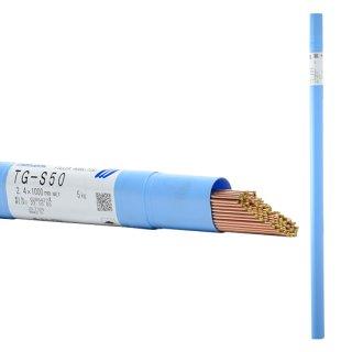 KOBELCO TG-S50(TGS-50) 軟鋼TIG溶接棒 2.4mm 5kg 神戸製鋼 (軟鋼〜490MPa級鋼)