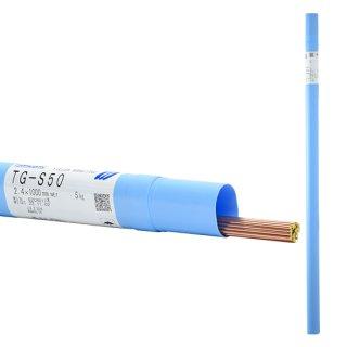 KOBELCO TG-S50(TGS-50) 軟鋼TIG溶接棒 2.4mm 1kg 神戸製鋼 【1kgバラ売り】