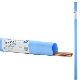 KOBELCO TG-S50(TGS-50) 軟鋼TIG溶接棒 3.2mm 1kg 神戸製鋼 (軟鋼〜490MPa級鋼) 【1kgバラ売り】