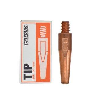 トーキン CO2/MAG/MIG溶接用 Dチップ(ダイヘン用) φ1.4mm.(標準タイプ 10本入) TIP0230041