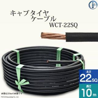溶接用キャプタイヤ(キャブタイヤケーブル) WCT 22SQ 10m