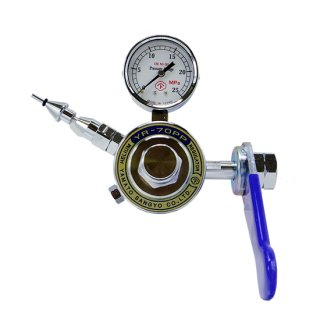 ヤマト産業株式会社 ヘリウム風船封入用プッシュ弁付調整器 YR-70PP