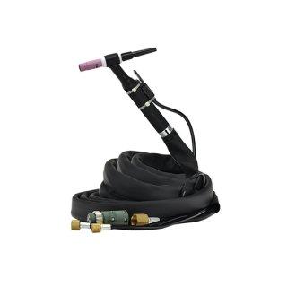ダイヘン(DAIHEN)純正水冷TIGトーチ 300A水冷アングル形 AW-18(AW18) 長さ8m
