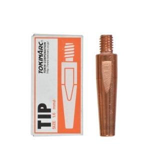 トーキン CO2/MAG/MIG溶接用 Dチップ(ダイヘン用) φ1.6mm.(標準タイプ 10本入) TIP023011