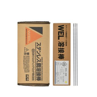 WEL 308 2.6mm×300mm 2.5kg(小箱) ステンレス鋼溶接棒(被覆アーク溶接棒) 日本ウエルディング・ロッド