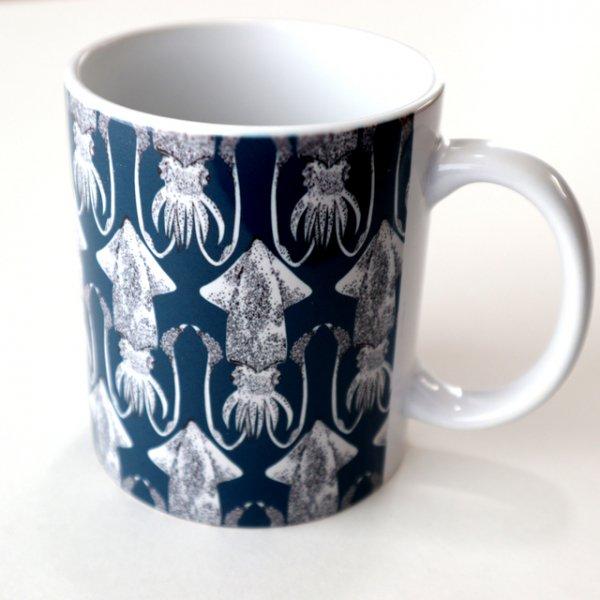 イカ陶器マグカップ