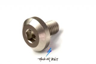 M6×1.0 サンダーボルト 10mm ブラスト チタン