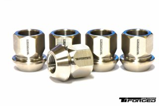 Ti Forged │Clubsport TF-160 Open Nuts for NISSAN Set of 16