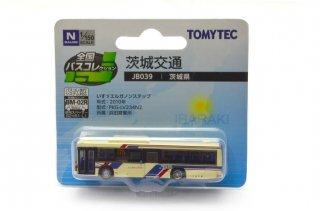 茨城交通 いすゞエルガ ノンステップバス(1/150 全国バスコレクション JB039)