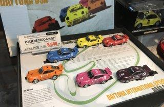 直輸入 BUB2013モデル ポルシェIROC-SET 1974 2/15 USAデイトナ国際レース8台セット
