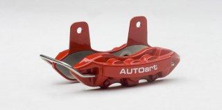 AUTOart ブレーキ・キャリパー ネームカードホルダー (レッド) オートアートデザイン 40259