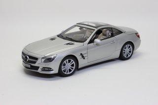 Mercedes Benz 特注 1/18 メルセデスベンツ SLクラス R231 (クリスタル シルバーmagno)2012 ダイキャスト製