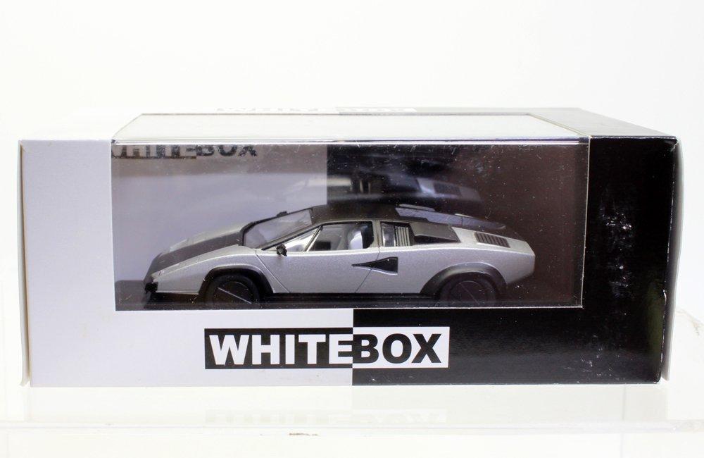 海外直輸入 White Box 1 43 Lamborghini Countach Evoluzione ホワイト