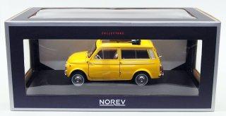 海外直輸入 NOREV 1/18 フィアット500 ジャルディニエラ 1968 Positano Yellow (ノレブ 187724)