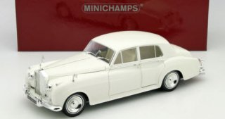 海外直輸入 MINICHAMPS 1/18 Rolls-Royce Silver Cloud � 1960 white