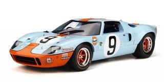 海外直輸入 Spark 1/18 Ford GT 40 #9 Winner 24h Lemans 1968 Rodriguez / Bianchi