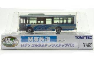 TOMYTEC 1/80 関東鉄道 いすゞ エルガミオ ノンステップバス (全国バスコレクション JH030)