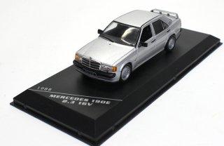 海外直輸入 WHITE BOX 1/43 Mercedes-Benz 190E 2.3 16V 1988 silver (ホワイトボックス WB246)