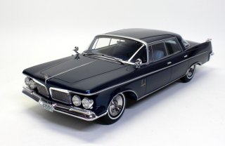 海外直輸入 BoS-Models 1/18 Imperial Crown Southampton 4-door blue metallic (ボスモデル BOS290)