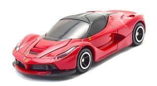 トミカ 62 ラフェラーリ 赤