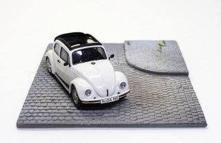 L'EauRouge ジオラマ 舗装道路 L字カーブ ベルギー製 (ロウルージュ D17a)