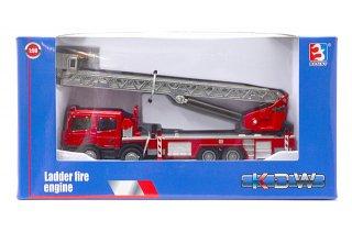 海外直輸入 KDW 1/50 はしご消防車 (208-900)