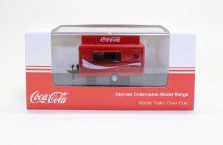 Oxford 1/76 Coca Cola モバイルトレーラー(移動販売トレーラー)赤 (オックスフォード OX76TR015CC)