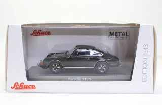 Schuco 1/43 Porsche 911 S Steve McQueen Movie Car Le Mans 1971 gray