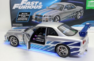 GREENLIGHT 19041 FAST & FURIOUS BRIAN'S 1999 日産スカイラインGT-R(BNE34)