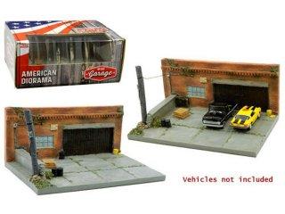 American Diorama 1:64 My Old Garage Diorama - MiJo アメリカンジオラマ
