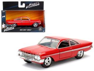 海外直輸入 JADATOYS 1/32  FAST FURIOUS Dom's 1961 Chevrolet Impala  ワイスピ インパラ