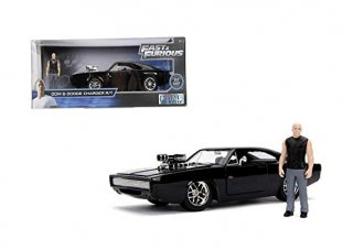 海外直輸入 JADATOYS 1/24 Hollywood Rides  Fast & Furious - Dodge Charger R/T & ドムフィギュア付き