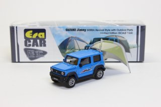 Era Car 1/64  ジムニーシエラ アウトドア限定モデル Suzuki Jimny Sierra with Outdoor (Limited Edition)