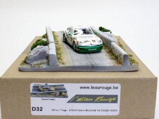 L'EauRouge ジオラマ  Tourist trophy ベルギー製 (ロウルージュ D32)