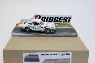 L'EauRouge ジオラマ  サーキット ブリヂストンタイヤ看板 ベルギー製 (ロウルージュ D24b)