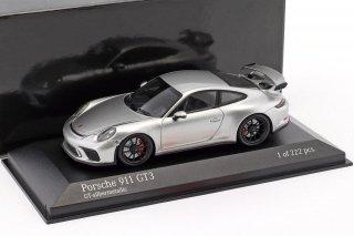 直輸入 MINICHAMPS 1/43 ポルシェ911 Porsche 911 (991)GT3 2017 GT3
