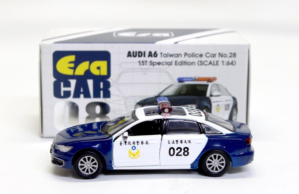 SEP 2019 Audi A6 Taiwan Police Car No.27 #08 Era 1//64
