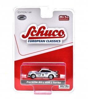 """Schuco 1/64 ポルシェ911(930) ターボ #8 """"マルティーニ"""" シルバー ( シュコー 1/64 452018800 )"""
