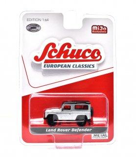 Schuco 1/64 ランドローバー ディフェンダー シルバー ( シュコー 1/64 452018600 )